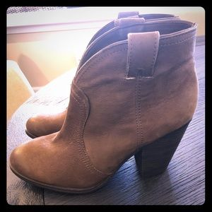 Brand New Brown Leather Booties!